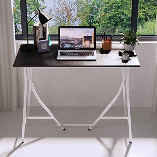 "Computer Desk 39"" Study Table for Home Office Laptop Desk, Writing Desk Simple Style PC Notebook Workstation (39 inch)"