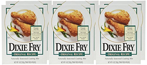 Dixie Fry Original Recipe Coating Mix, 10 Oz 6 Packs by Dixie Fry (Image #2)