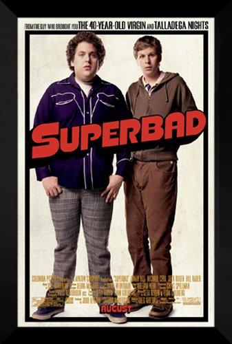 (ArtDirect Superbad FRAMED 27x40 Movie Poster: Seth Rogan & Hill)