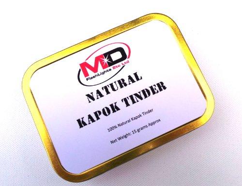 MD 100% Natural de Fire Starter yesca de ceiba