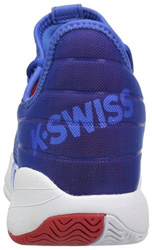 K-swiss Mens Si-2018 Sneaker Forte Blu / Bianco / Rosso Alto Rischio