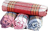Sale Set of 6 XL New Turkish Hamam Peshtemal Cotton Bath Face Towel Spa Bath