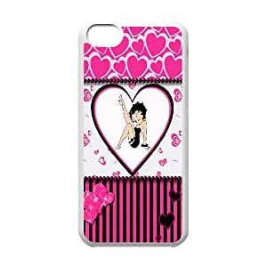 ZK-SXH - betty boop Customized Hard Back Case for iPhone 5C,betty boop Custom Case