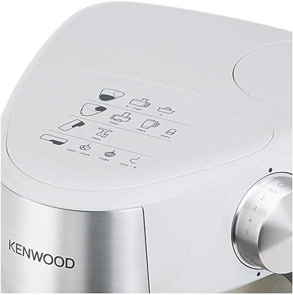 Kenwood Prospero+ KHC29.H0WH - Robot de cocina multifunción, bol 4.3 L, mezclar, batir y amasar, batidora de vaso de cristal 1.5 L, procesador de alimentos 1.4 L con tres discos y exprimidor,