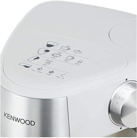 Kenwood Prospero+ KHC29.H0WH - Robot de Cocina Multifunción, Bol 4,3L, Mezclar, Batir y Amasar, Batidora de Vaso de Cristal 1.5L, Procesador de Alimentos 1.4L con Tres Discos y Exprimidor, Blanco: Amazon.es: Hogar
