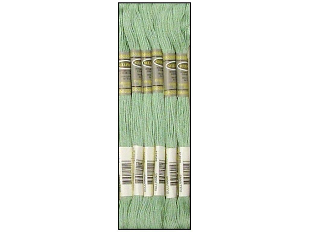 Sullivans Six Strand Embroidery Cotton 8.7 Yards-Light Celadon Green (並行輸入品) B0036ZWMIY