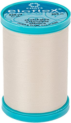 Coats Eloflex Stretch Thread 225yd-natural