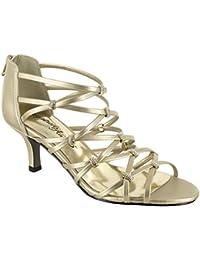 8815257c8b26 Amazon.com  Gold - Sandals   Shoes  Clothing