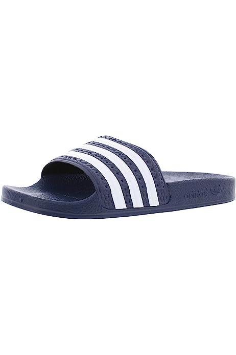 mens white adidas slides