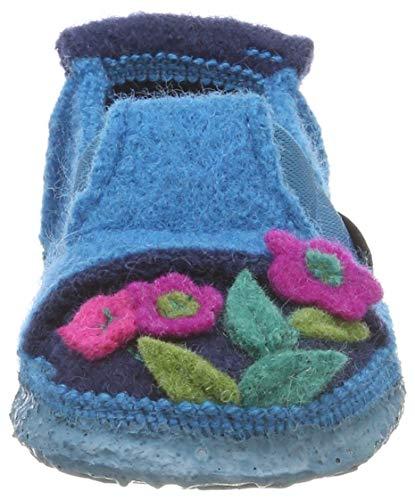 Turquoise Fille Flowers Chaussons Türkis Little Bas 33 Nanga qwX1I8vK