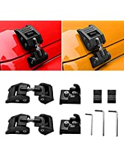 Hood Latches 200-2021 Hood Lock Latch Latches Kit for Jeep Wrangler
