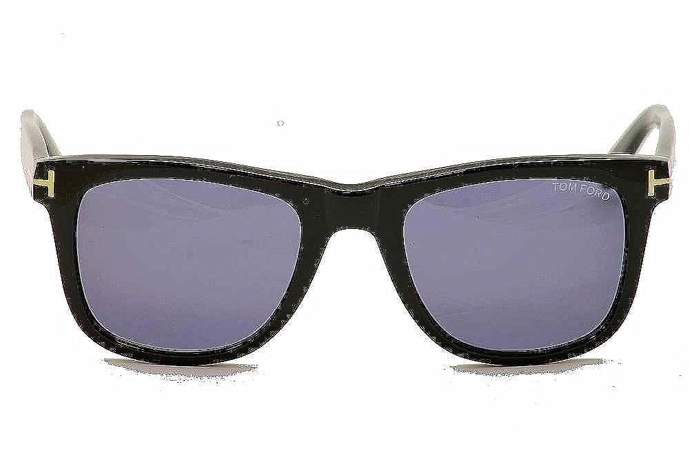 7d660939c8 Sunglasses Tom Ford TF 336 FT0336 01V shiny black blue at Amazon Men s  Clothing store