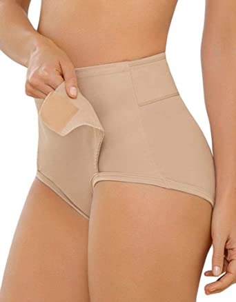 6a15d636822ca Leonisa Women s Postpartum Panty with Adjustable Belly Wrap at Amazon  Women s Clothing store