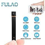 FULAO Mini Super Hidden Spy Wifi Cam 1080P HD Portable Nanny Camera Wireless Digital Video Recorder Camera