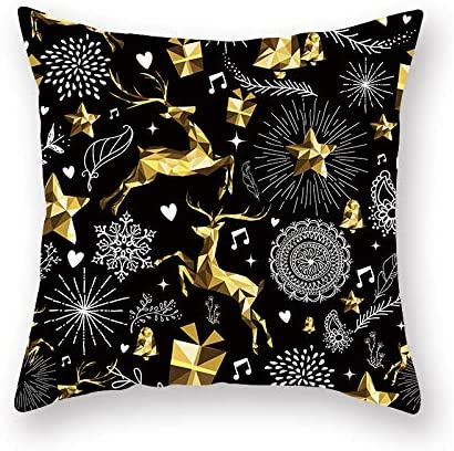 Qishi Christmas Decoration Pillow Case