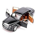 rolls royce model kits - KMT Rolls-Royce Alloy Diecast Car Models Scale Model Plastic Model Kits (Black)