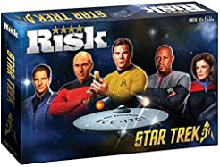 USAOPOLY Risk Star Trek 50th Anniversary...