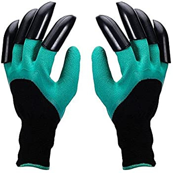 Garden Genie Gloves Ounne Genie Gloves With Claws For Digging Planting Claws On