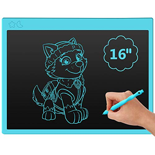 Ksera LCD Writing Tablet, 16 Inch Kids Drawing Board,LCD Doodle Board, Drawing Tablet for Kids,Drawing Pads Best Gift…