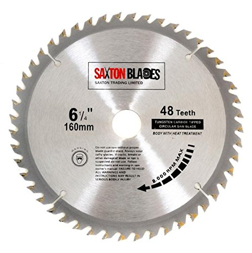 Saxton tct circular wood saw blade 160mm x 20mm x 60t for festool saxton tct circular wood saw blade 160mm x 20mm x 60t for festool ts55 bosch makita etc amazon diy tools greentooth Image collections