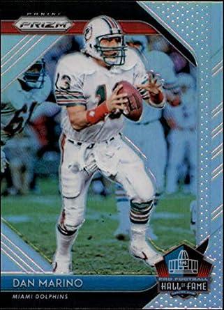 42f7691a477 2018 Panini Prizm Hall of Fame Prizm  12 Dan Marino Miami Dolphins NFL  Football Trading