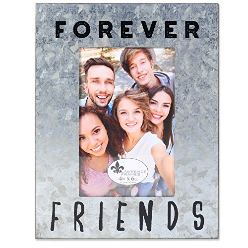 Lawrence Frames 4x6 Cooper Galvanized - Forever Friends, Silver