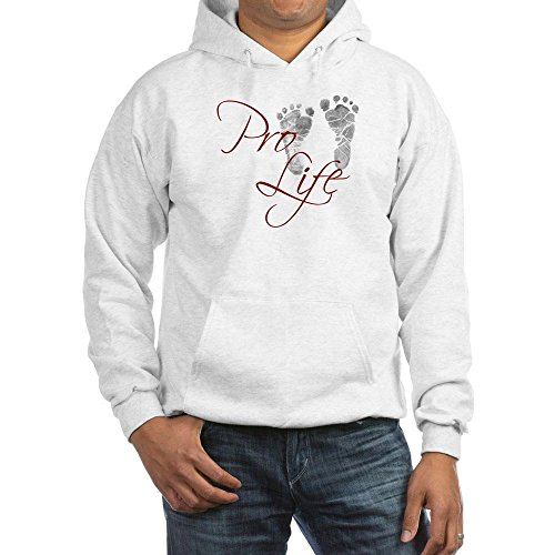 Pro Life Sweatshirt (CafePress - Pro Life - Pullover Hoodie, Classic & Comfortable Hooded)