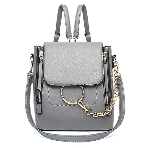 WOG2008 Women Cute Chain Crossbody Backpack Purse Fashion Satchel Bag Hobo Shoulder Bag for Ladies