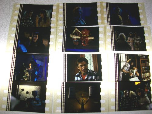 BEETLEJUICE Lot of 12 35mm film cells collectible memorabilia compliments dvd...