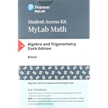 Amazon robert blitzer books mymathlab with pearson etext standalone access card for algebra and trigonometry 6th edition fandeluxe Image collections