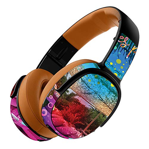 MightySkins Skin Compatible with Skullcandy Crusher 360 Wireless Headphones - Tropical Resort | Protective, Durable, and Unique Vinyl wrap Cover | Easy to Apply, Remove | Made in The USA