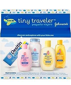 Johnson & Johnson Baby Take Along Travel Pack (Baby powder, Wash, Shampoo, Lotion, Desitin)