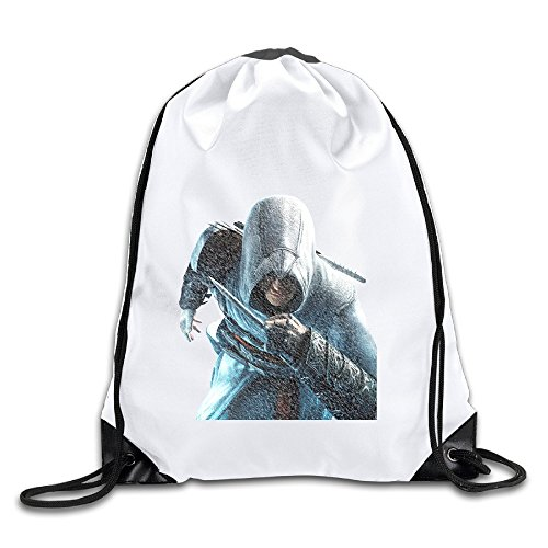 Hunson - Cool Action-adventure Video Game Sport Bag Drawstring Sling Backpack For Men & Women Sackpack