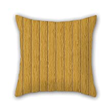 Wood Pillowcase 18 X 18 Inches / 45 By 45 Cm For Couch Shop Couples Home Theater Her Dance Room With Double Sides
