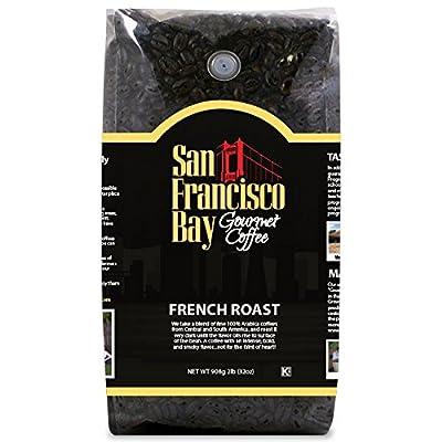 San Francisco Bay Coffee, French Roast- Whole Bean, 2-Pound (32 oz.)