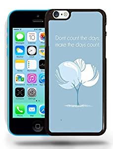 Cute Funny Inspirational Positive Vibe Motivation Quotes Phone Case Cover Designs for iPhone 5C