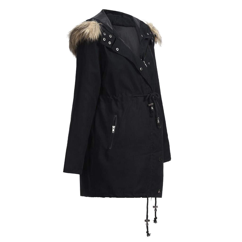 Mantel Damen REALIKE Frau Umstandsmode Umstandsmantel /Übergangsmantel Jacke Jacket Tragejacke f/ür Mama und Baby