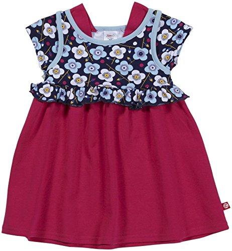 (Zutano Blaue Blumen Ruffle Dress (Baby) - Navy-3 Months)
