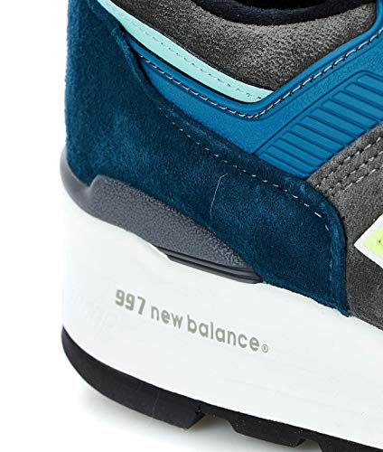 New Balance Luxury Fashion Herren M997PAC Blau Sneakers | Frühling Sommer 19