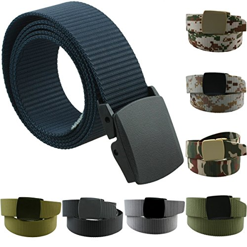 Moonsix Nylon Belts for Men,Utility Military Tactical Duty