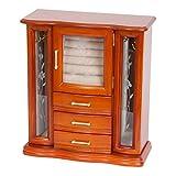 Mele and Co. Richmond Wooden Jewelry Box (Walnut Finish), Medium