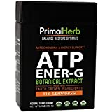 ATP Cofactors, Mitochondria Supplement | Natural Energy Tea | by Primal Herb | Energy Boost Herbal Extracts | Includes Bamboo Spoon - 116 Servings!