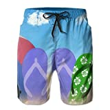 2017 Summer Style Beach Slippers Casual Elastic Boardshort For Adult