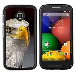 Dragon Case - FOR Motorola Moto E (1st Gen, 2014) - eagle America freedom bird national gold - Caja protectora de pl??stico duro de la cubierta Dise?¡Ào Slim Fit