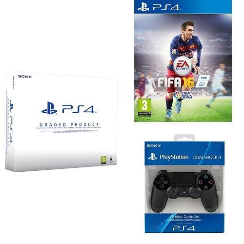 PlayStation 4 (PS4) 500 GB Consola - Blanca - Reacondicionada por ...