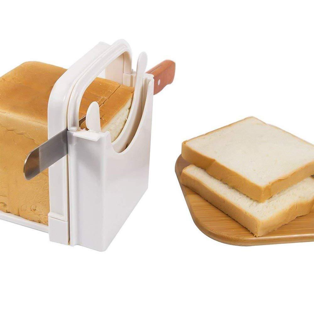 OurLeeme Cortadora de pan, tostadora Rebanadoras de queso y ...