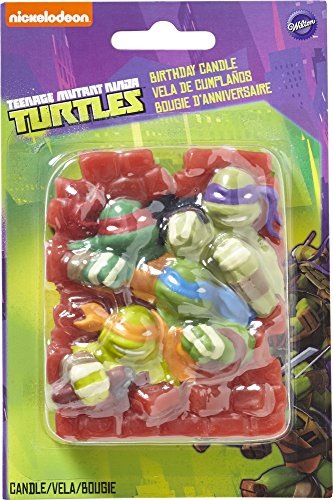 Wilton 2811-7745 Teenage Mutant Ninja Turtles Birthday -