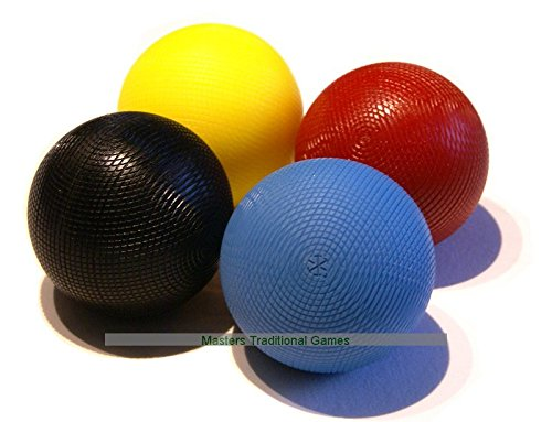Willhoite Regulation Championship Xtreme Croquet Balls - 1st colors by Willhoite