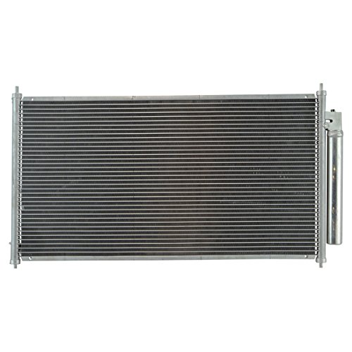 Air Conditioning AC A/C Condenser with Receiver Drier for 13-17 Honda Accord ()