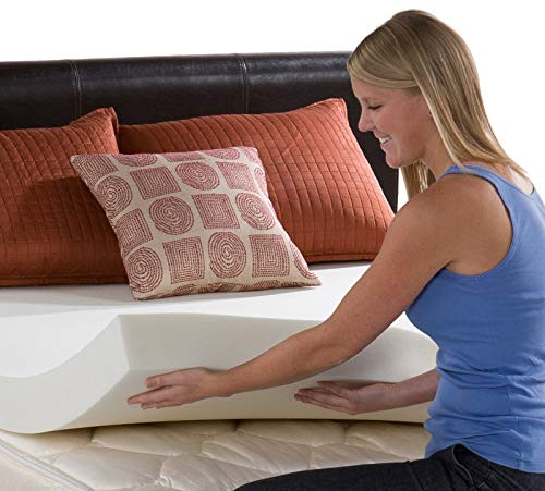 3 RV King Size Memory Foam Mattress Topper, Bed Topper,Mattress Pad 3.3 LB Density